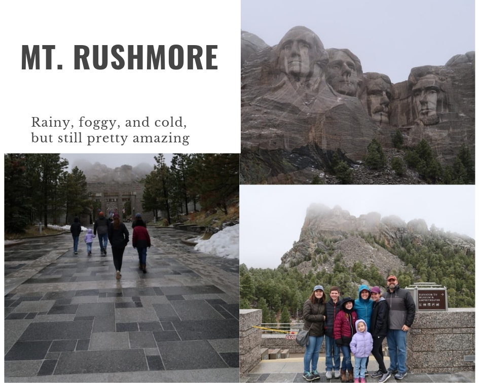 Mt Rushmore collage
