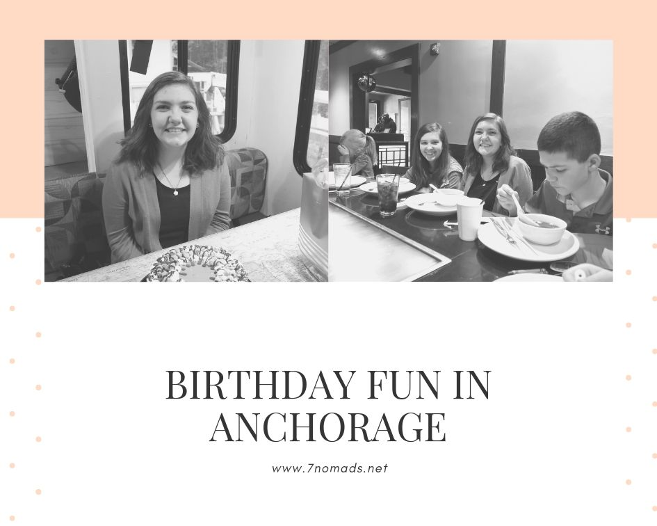 Birthday fun in anchorage