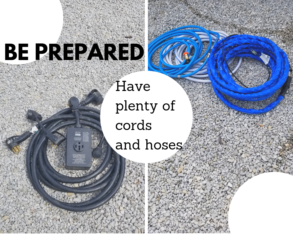 RV hoses and cords
