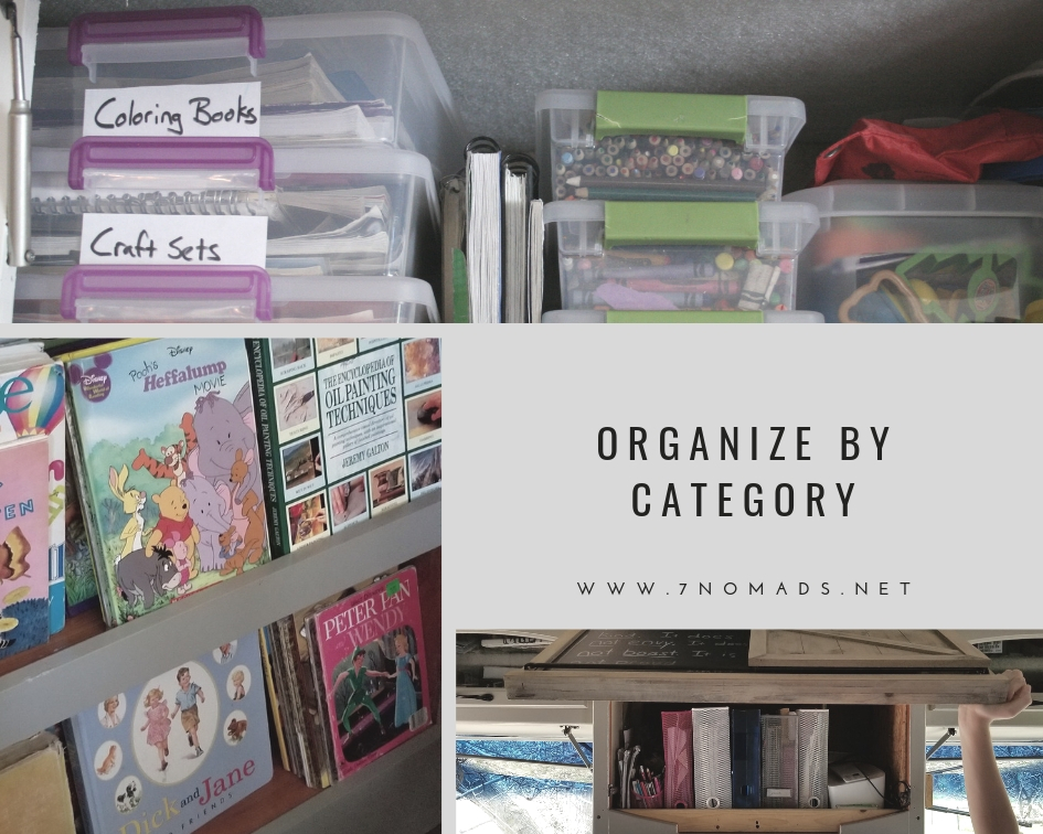 Organize by Category