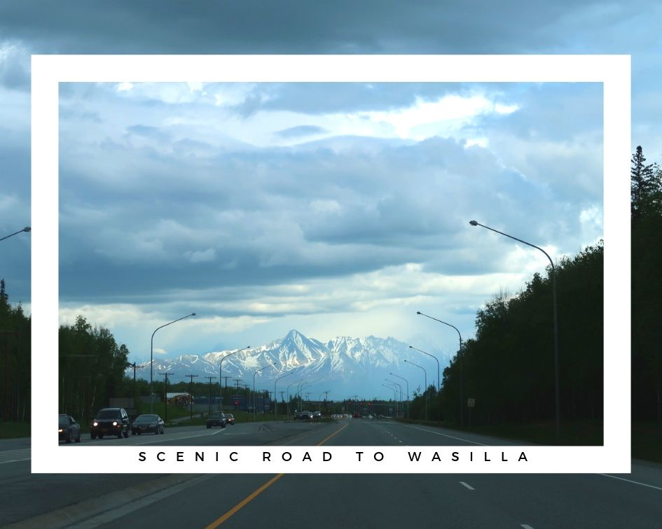 scenic road to wasilla