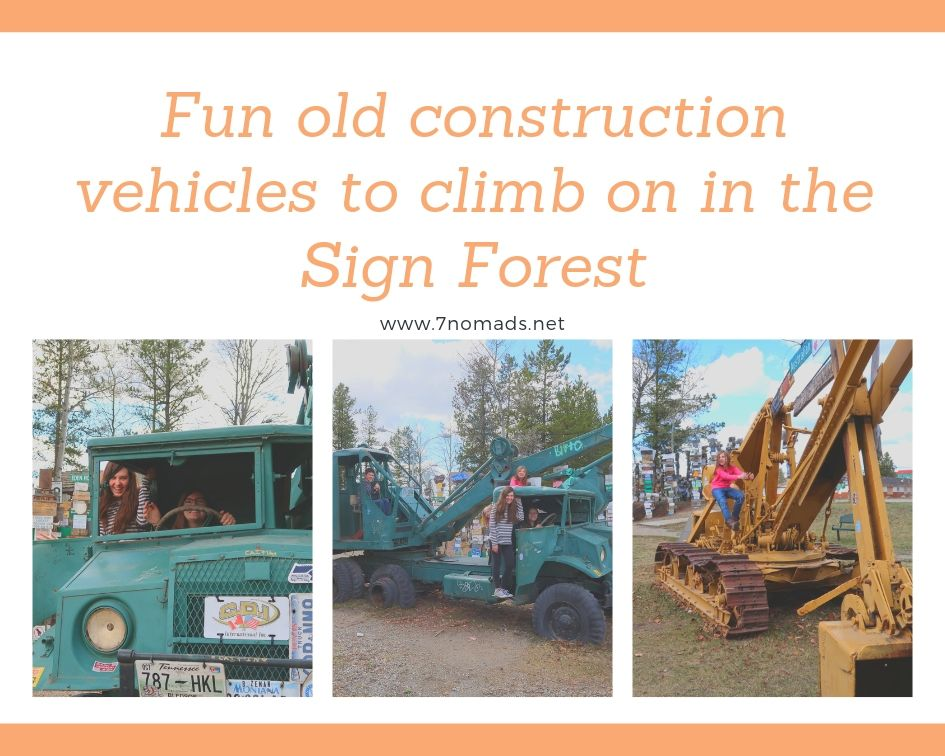 sign forest in Watson Lake
