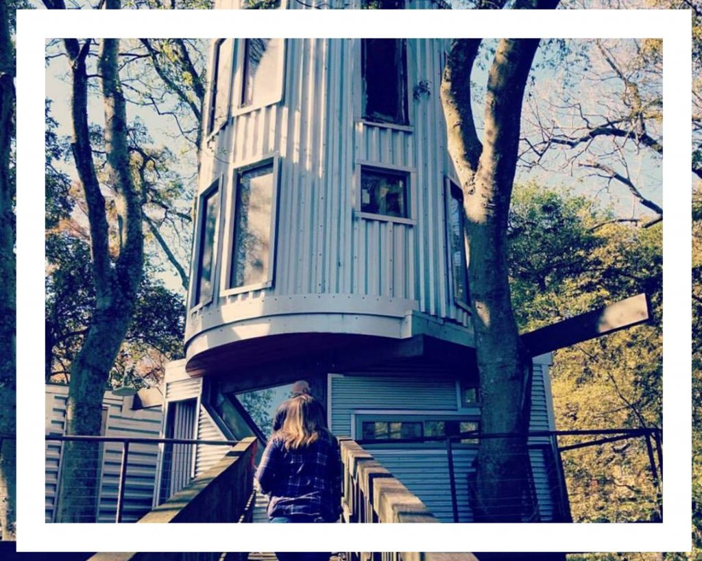 Metal Tree House